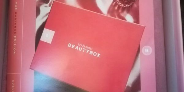 Lookfantastic box: srpen 2020
