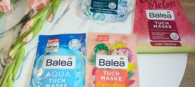 Plátýnkové masky Balea