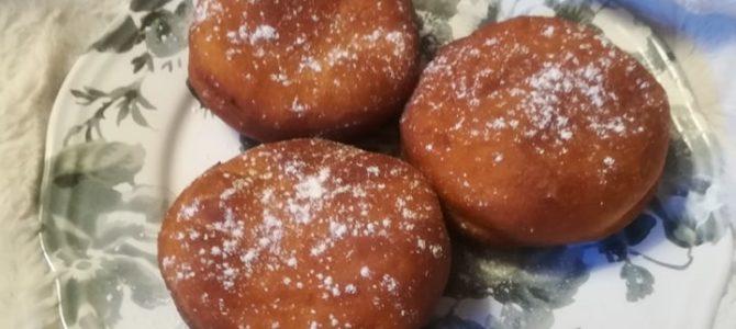 Koblihy plněné marmeládou – recept