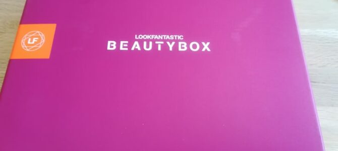 Lookfantastic box: listopad 2020