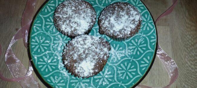 Borůvkové muffiny sčokoládou – recept