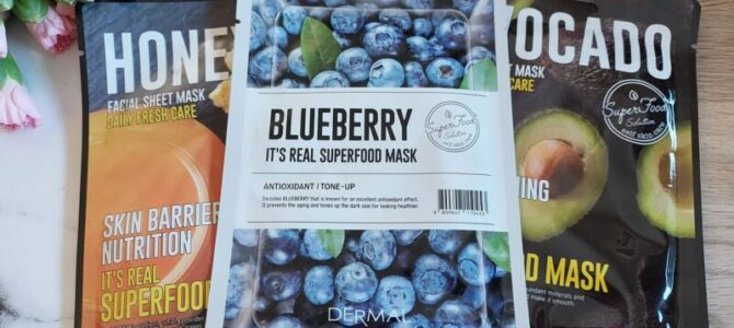 Plátýnkové masky Dermal – recenze