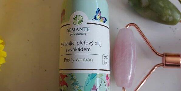 Vyhlazující pleťový olej savokádem Pretty woman – recenze
