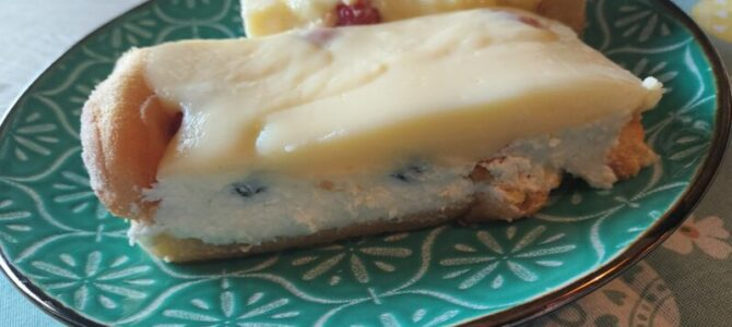 Nepečený koláč sovocem – recept