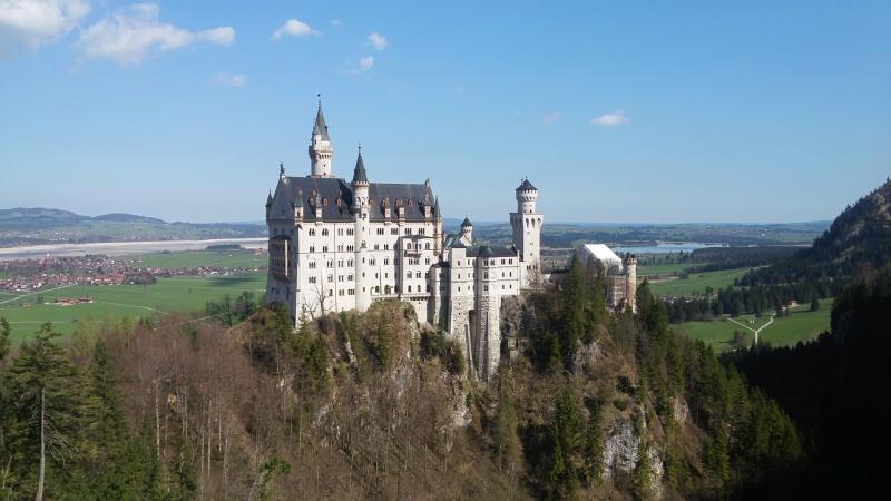 zámek Neuschwannstein