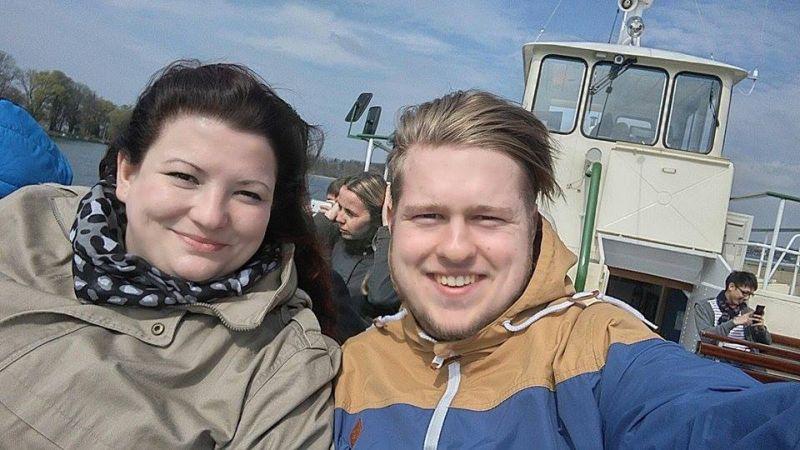 já s Tomem na lodi:-)