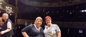 s Janou v Olympia Theatre