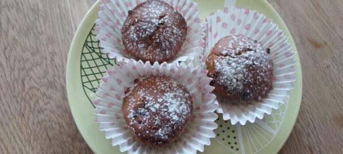 Banánové muffiny sčokoládou – recept