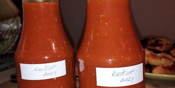 Domácí kečup – recept