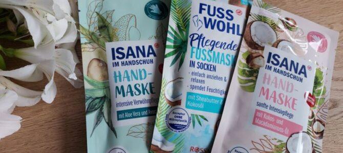 Masky naruce achodidla – Isana