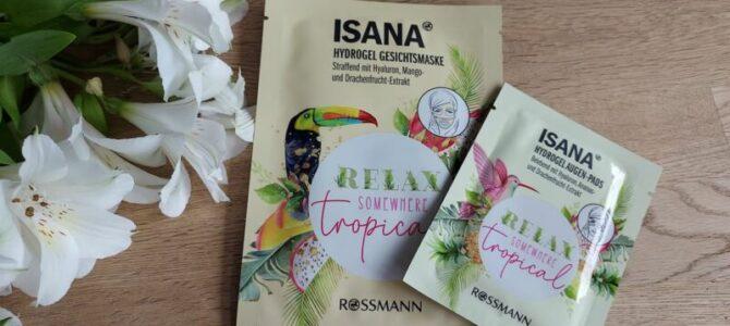 Masky natvář aoční okolí Relax – Isana
