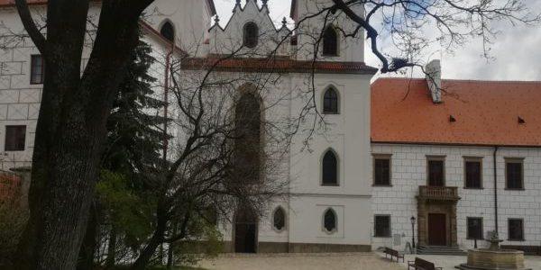 Třebíč – bazilika anáměstí