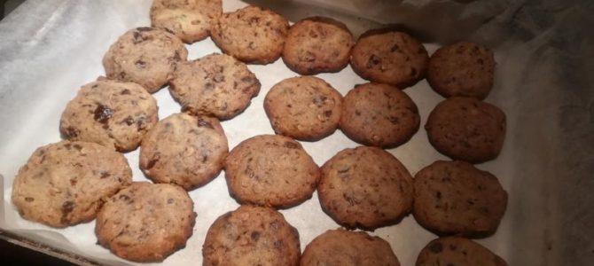 Čokoládové sušenky zovesných vloček