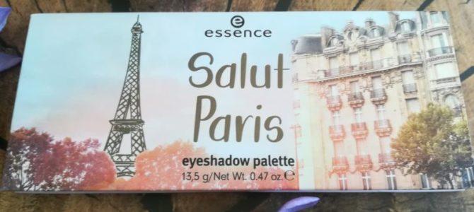 Paletka očních stínů Salut Paris, Essence