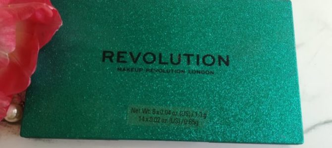 Paletka Emerald od Makeup Revolution London