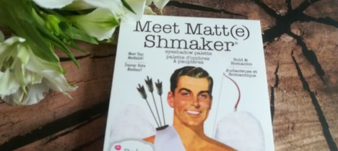 Paletka Meet Matt(e) Shmaker – TheBalm