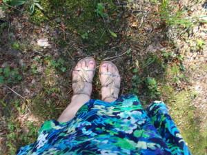 super boty na procházku lesem:-)