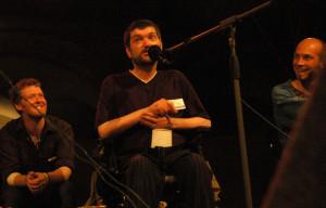 Fergus s Glenem Hansardem na koncert v Náměšti