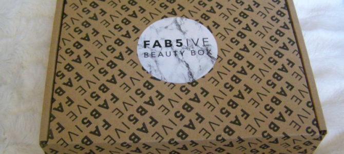 Fab5ive box: září 2018