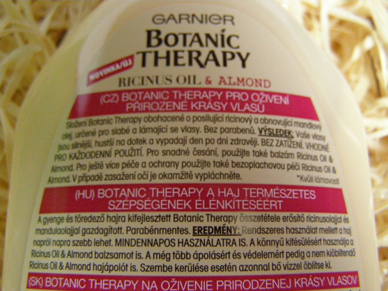 šampon - etiketa