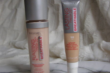Makeup a korektor Lasting Finish Breathable, Rimmel