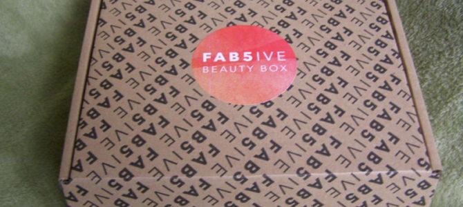 Fab 5ive box: červenec 2018