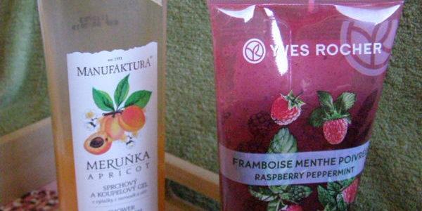 Z kosmetické poličky – ovocné sprchování