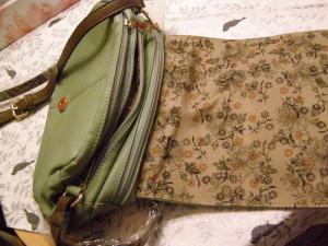 podšívka kabelky