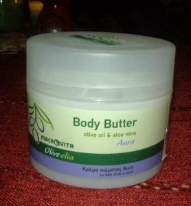 tělové máslo Aura
