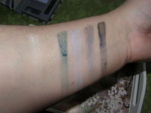 velmi špatná pigmentace