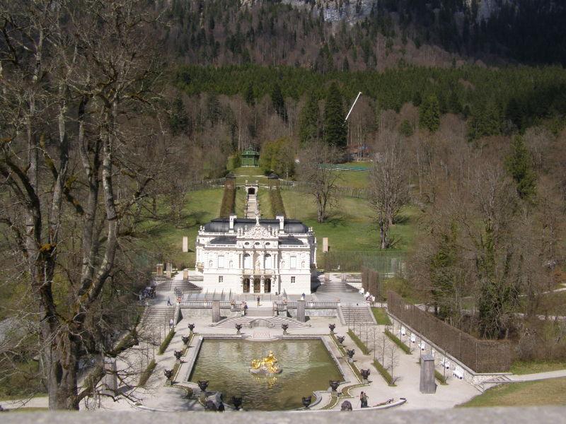 zámek Linderhof