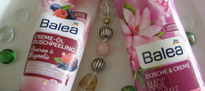 Sprchování sBaleou – narůžové vlně:-)