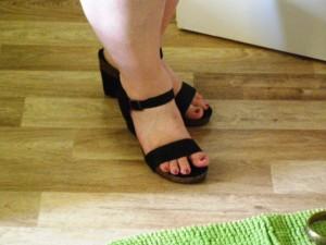 boty jsou super, moje nohy zrovna modelkovské nejsou:-)
