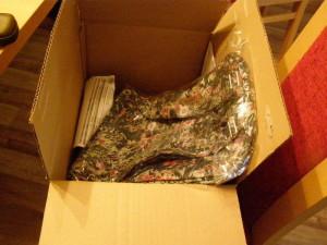 přišel i balík z Avonu