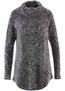 ponco-pulovr-antracitovy-melir