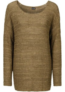 khaki svetřík