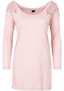 růžové tričko